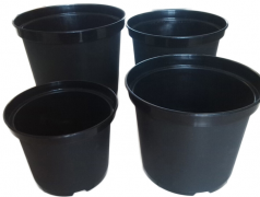 Black Plastic Flower Pot for Greenhouse-Jianchuan Greenhouse