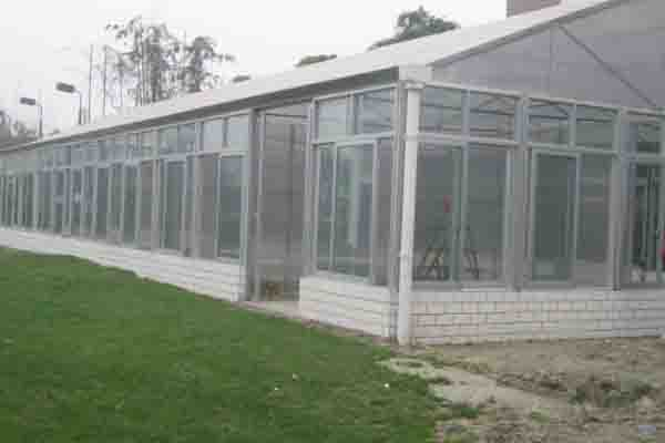 The glass greenhouse
