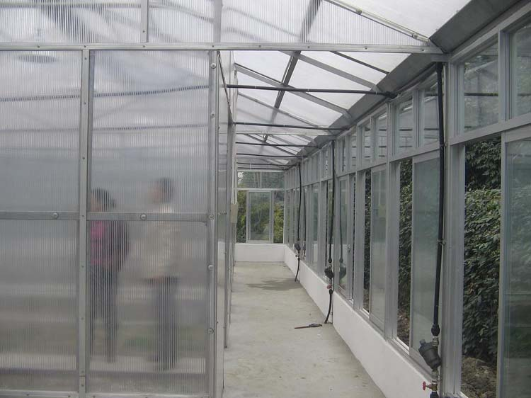 The glass greenhouse of Sichuang nongmang group