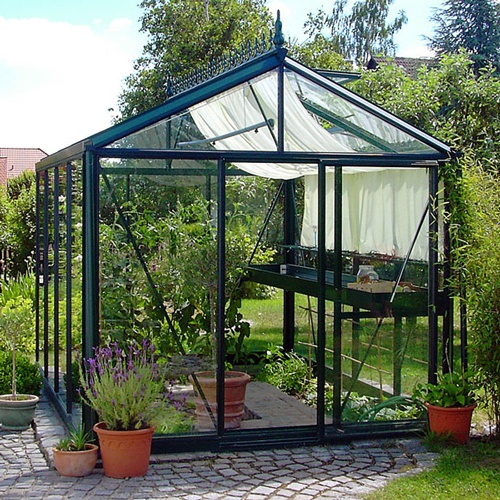 Tremendous 79 X 102 Victorian Greenhouse Commercial Greenhouses Home Interior And Landscaping Ponolsignezvosmurscom